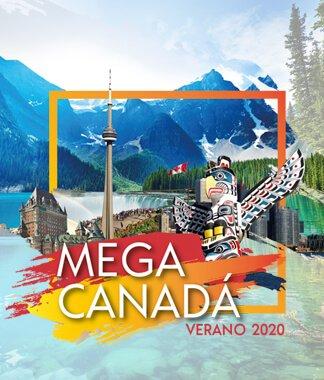Viajes a Canadá MEGA CANADÁ VERANO