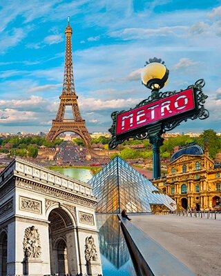Viajes y paquetes a Paris con salidas en Julio desde México 2021