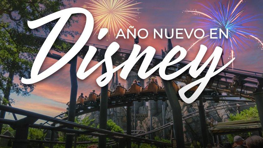 Año Nuevo en Disney