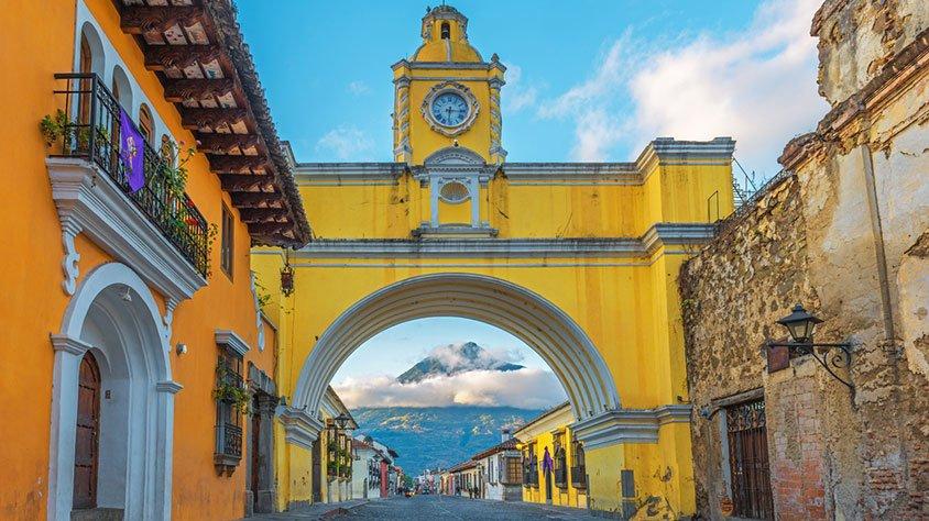 viaje Guatemala, Historia y Naturaleza