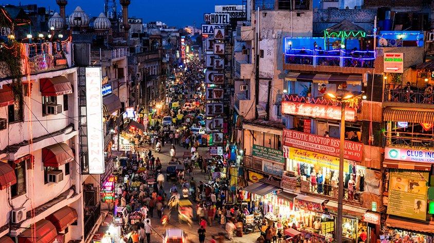 viaje India - Kathmandu y Dubai