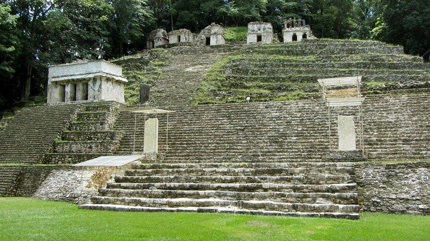 Ruinas en Bonampak