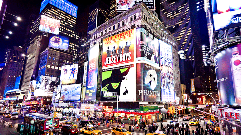 viaje New York y Broadway