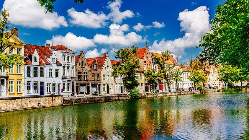 Casas en Brujas Belgica