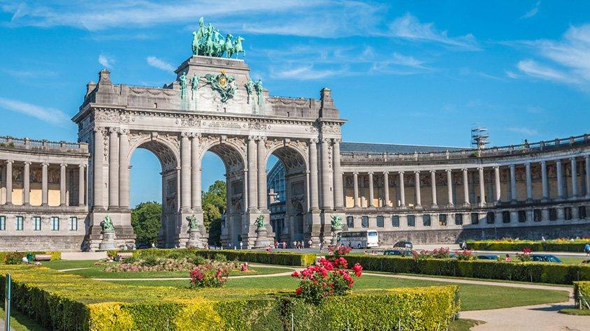 Arco Cinquantinaire en Bruselas