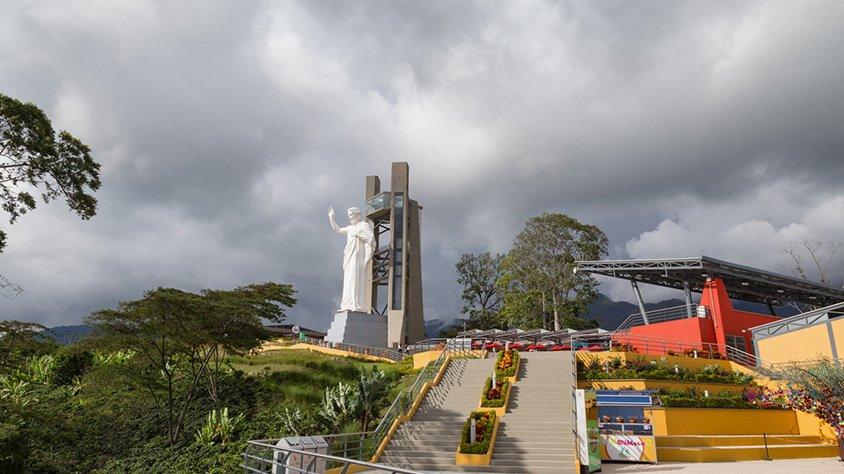 Estatua de el Santisimo en Bucaramanga