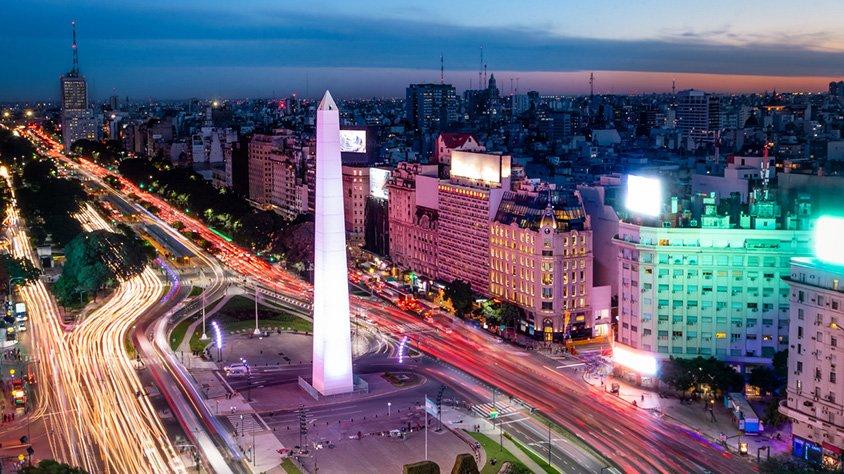 Vista Aerea de la Ciudad de Buenos Aires
