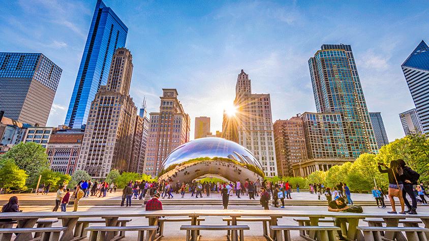 viaje Chicago desde León