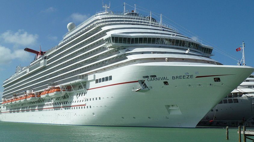 viaje Carnival Breeze Caribe del Sur