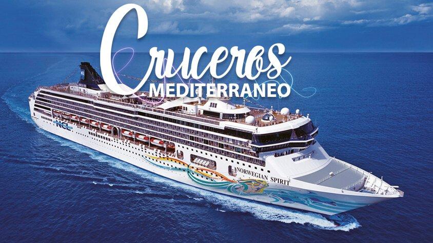 viaje Cruceros Mediterráneo