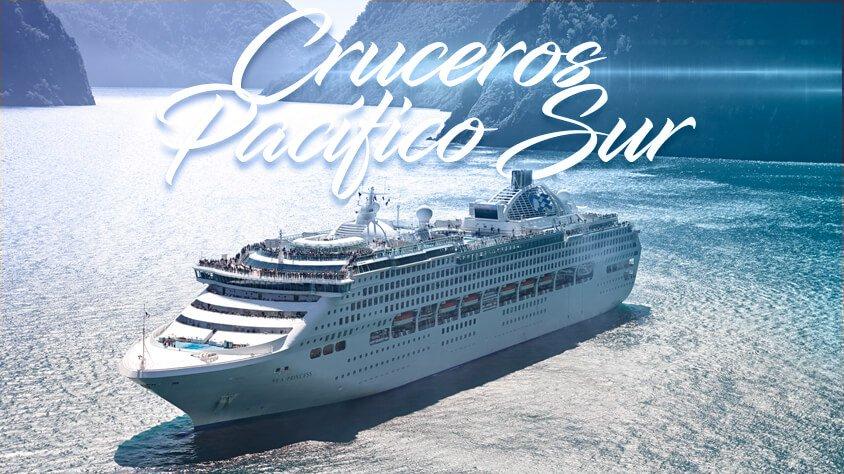 cruceros pacifico sur