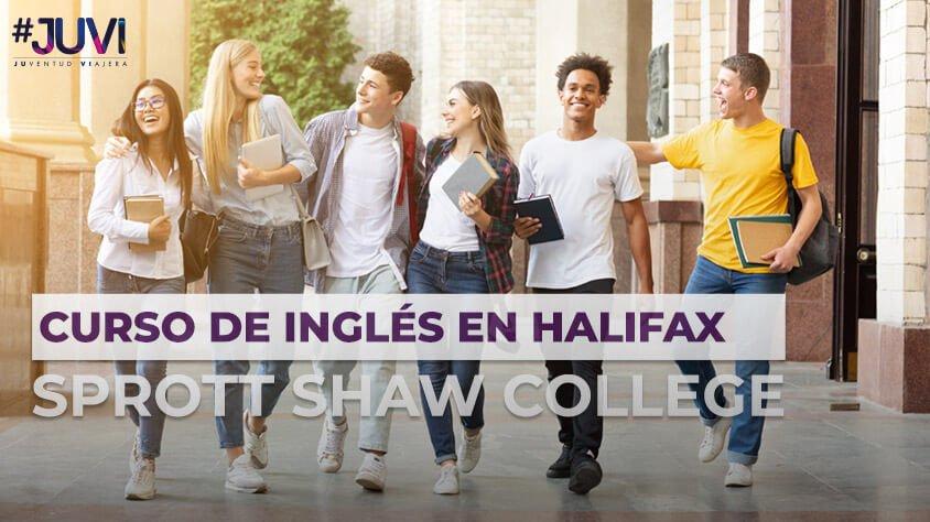 Curso De Inglés en Halifax Sprott Shaw College