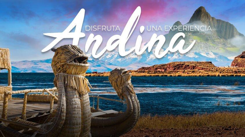 Disfruta una Experiencia Andina