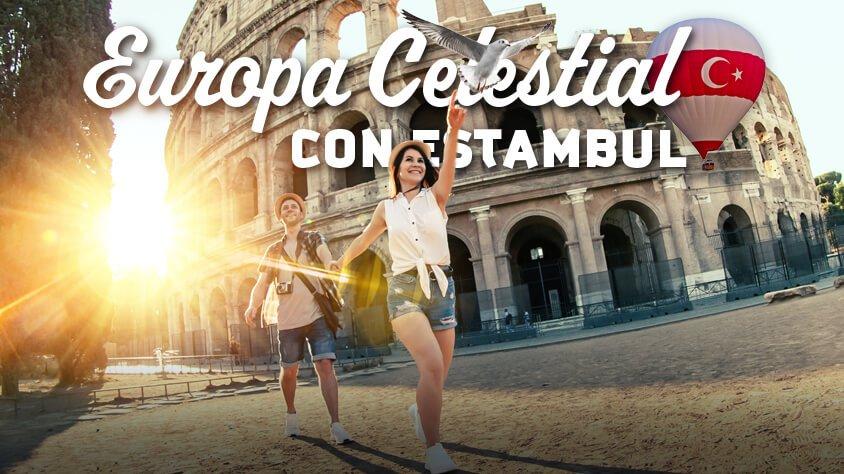 Europa Celestial con Estambul