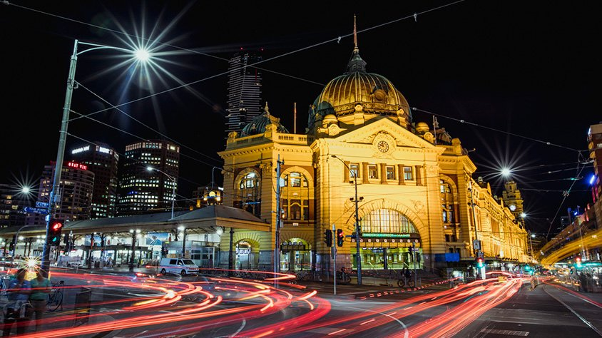 Estación de melbourne