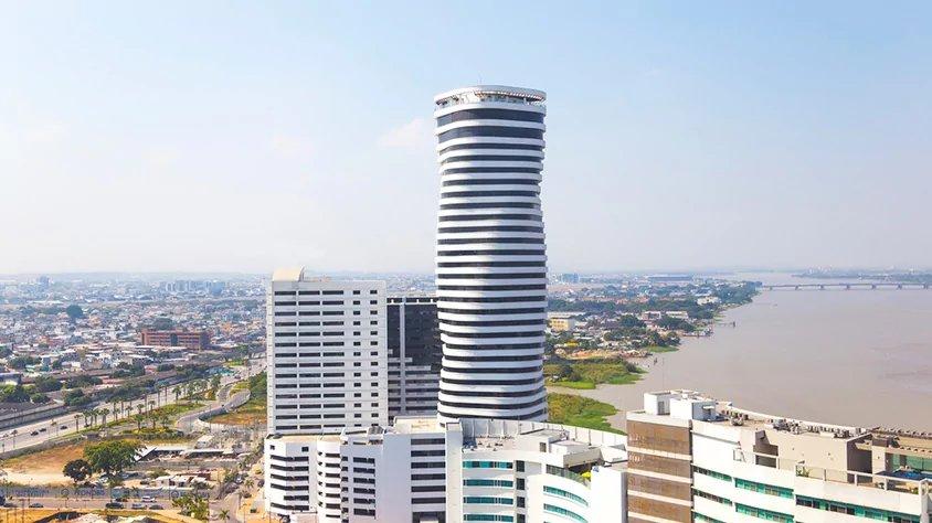Vista Aerea de Guayaquil