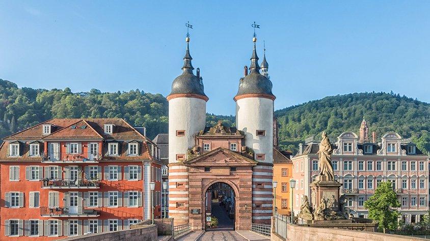 Heidelberg Puente al Castillo