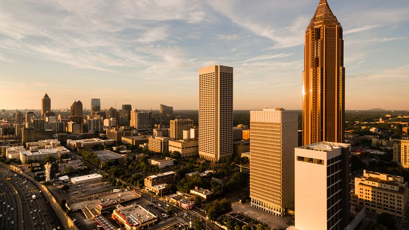 Horizonte en Atlanta