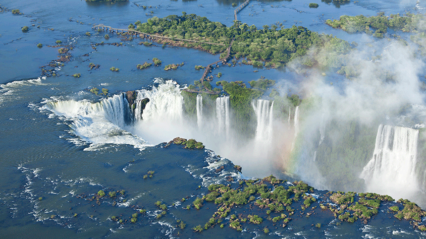 viaje Cruce de Lagos e Iguazú