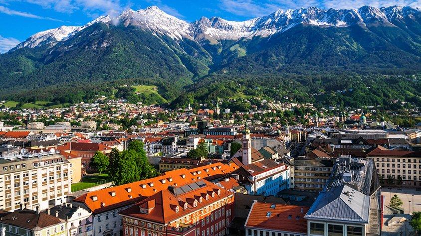 Vista a las Montanias en Innsbruck
