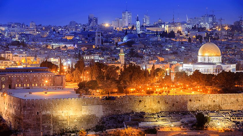 Estambul, Petra e Israel