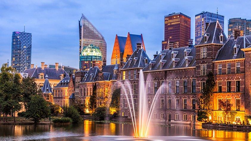 Edificios del Parlamento en la Haya Holanda