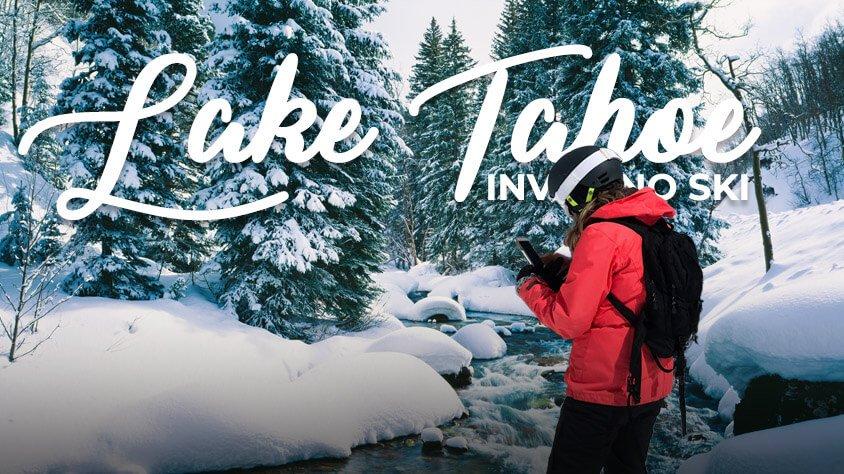 viaje Lake Tahoe Invierno