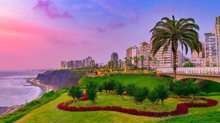 Distrito Miraflores en Lima
