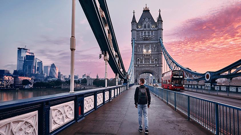 viaje Londres - París y Madrid