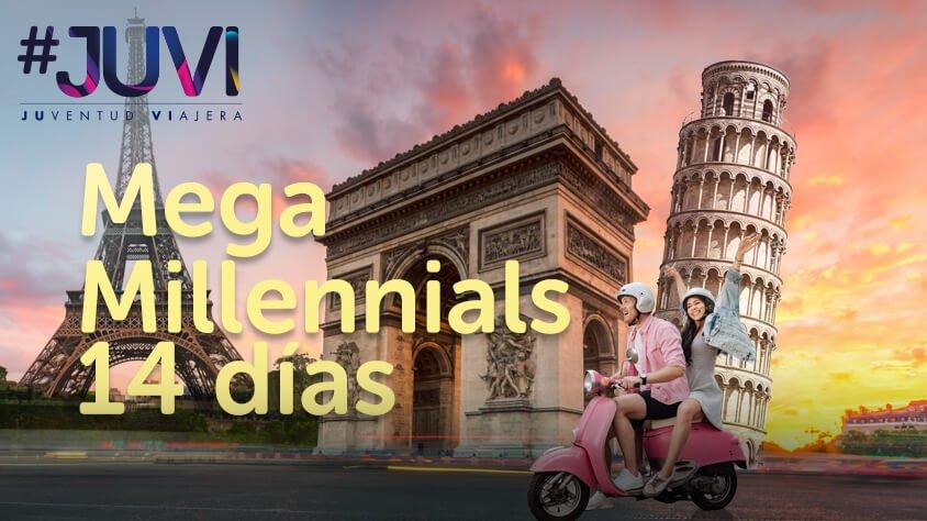 viaje Mega Millennials 14 Dias