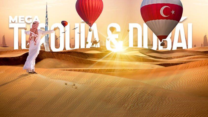 viaje Mega Turquía y Dubái Promo 2021