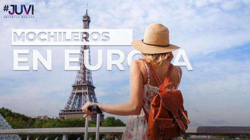 MOCHILEROS EN EUROPA AL ESTILO JUVI
