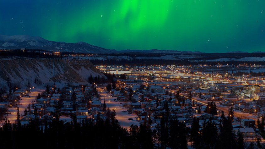 Northern lights whitehorse