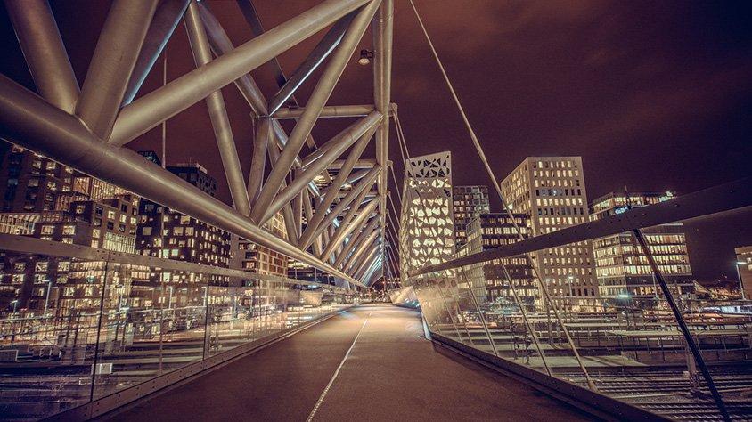 Puente Peatonal en Oslo