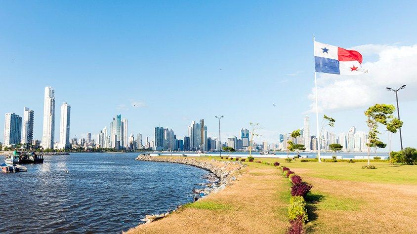 Horizonte de la Ciudad en Panama