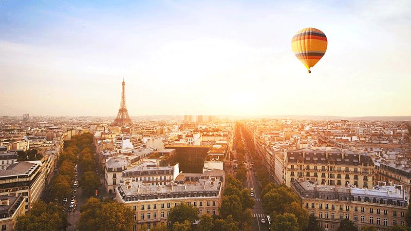viaje París con Países Bajos