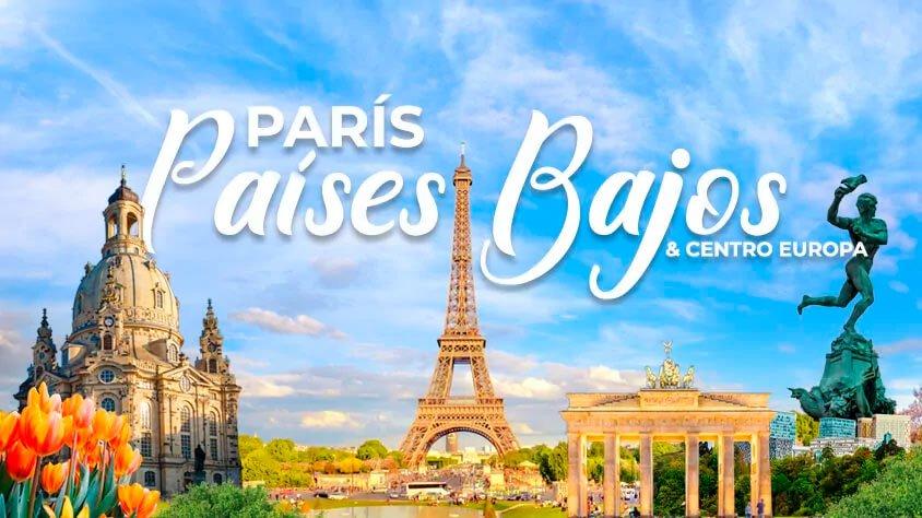 París, Paises Bajos y Centro Europa