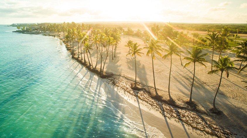 Vista Con Sol en Punta Cana
