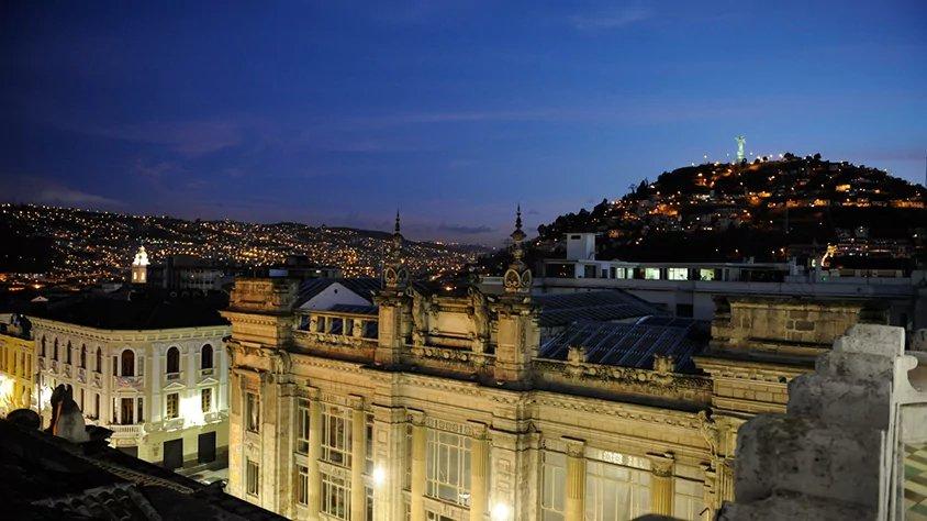 Vista de la Ciudad en Quito