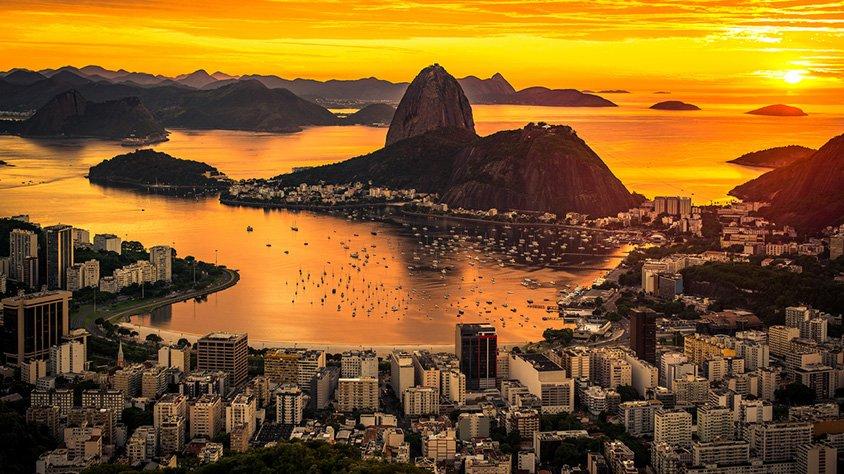 viaje Cruce de Lagos y Río de Janeiro