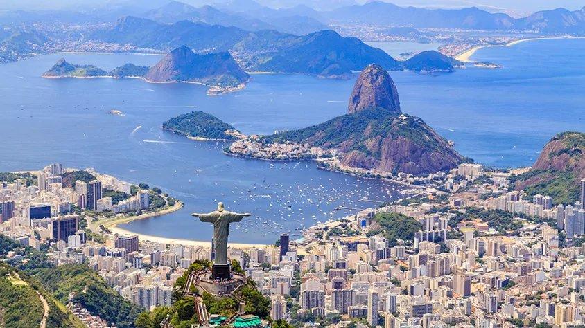 Cristo el Redentor en Rio de Janeiro