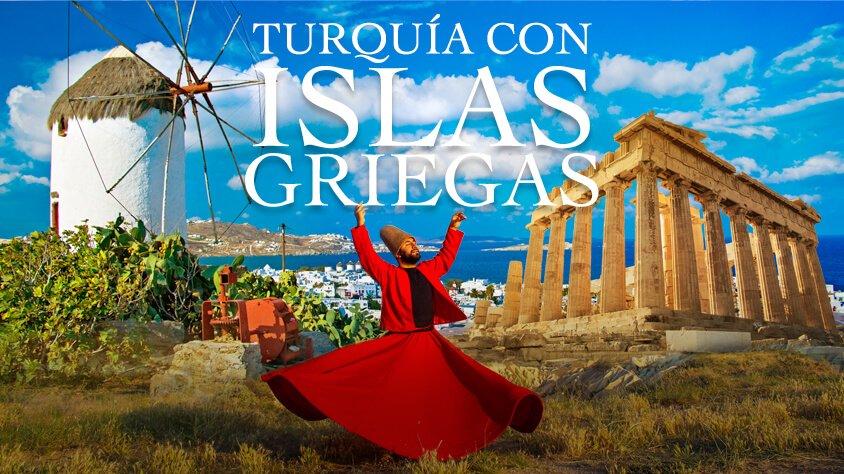 Turquia con Islas Griegas en Crucero de 03 Noches