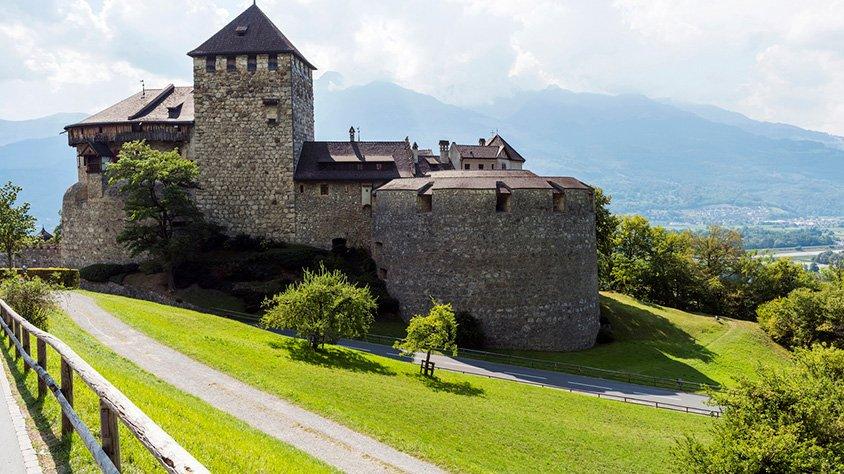 Castillo Medieval en Vaduz
