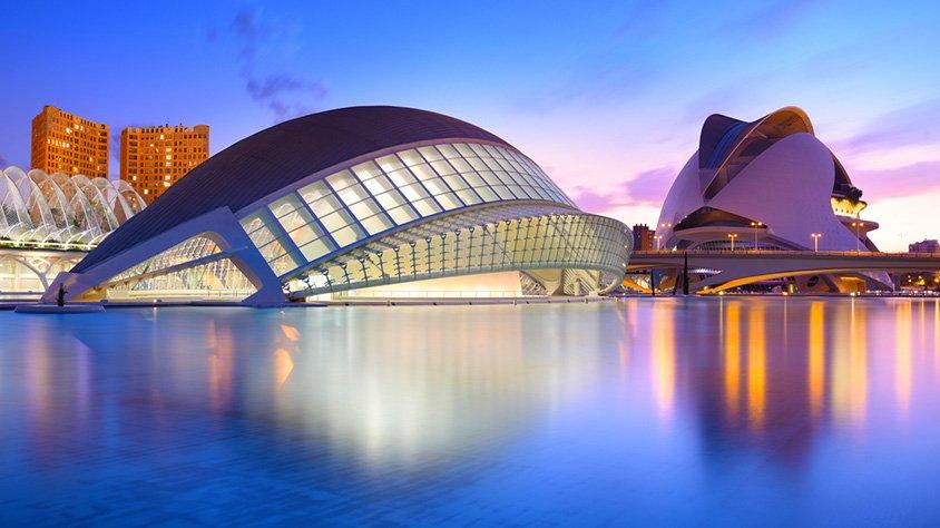 Valencia Ciudad de Las Artes