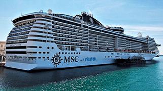 MSC Fantasia - Mediterráneo
