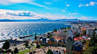 Lago Nahuel Huapi en Bariloche