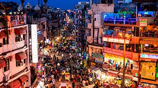Bazar en paharganj