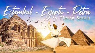 Estambul - Egipto - Petra y Tierra Santa Promo 2021