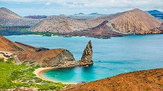 Isla Bartolome en los Galapagos