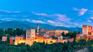 Alhambra al Atardecer